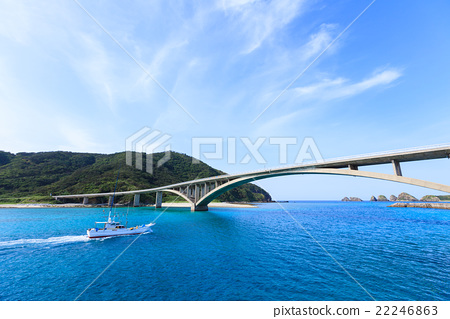 阿嘉島 橋 橋樑 22246863