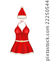 Sexy santa clause costume 22250544