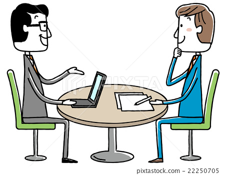 插圖素材:商務會議會議 22250705