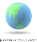 Earth globe model 22254225