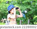 เด็กชายกำลังมองดูกล้องส่องทางไกล 22260002