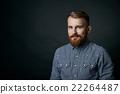 portrait, bearded, man 22264487