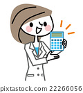 calculator, female, lady 22266056