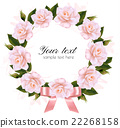 Flower background made out of pink and flowers 22268158