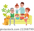 family, household, three generation family 22268799