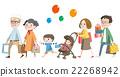 3 세대 가족 (조부모, 부모, 형제) (쇼핑 1) 22268942