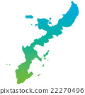 Okinawa Prefecture Map 22270496