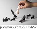 Chess figure, business concept strategy leadership 22275657