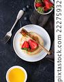 pancakes pancake blueberry 22275932