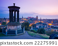 Edinburgh city from Calton Hill at night, Scotland 22275991