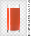 Tomato Juice in a Glass 22278656