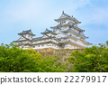 Main tower of the Himeji Castle in Japan 22279917