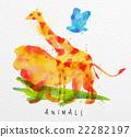 矢量 矢量图 动物 22282197