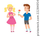 vector, love, couple 22284054