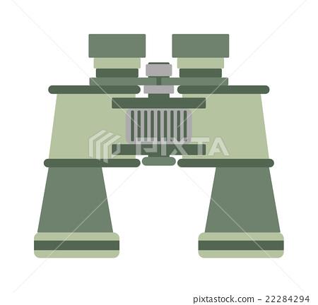 Binoculars vector illustration. 22284294