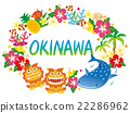 Okinawa, icon, icons 22286962