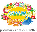 Okinawa, icon, icons 22286963