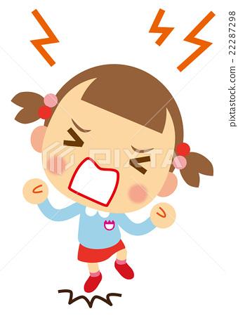 發脾氣的女孩子 22287298