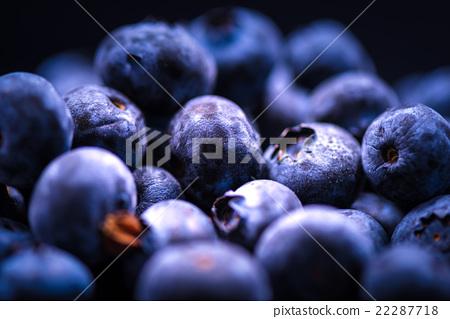Blueberry, fruit, closeup, macro. 22287718