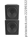 Audio speaker 22290322