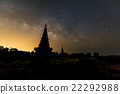 The Milky Way at pagoda on the top of Inthanon  22292988