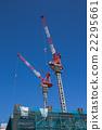 crane, cranes, condominium 22295661