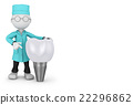 dentist and implant 22296862
