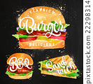 Burger chalk 22298314