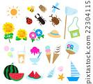 夏天 夏 Icon 22304115