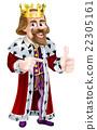 king man pointing 22305161