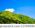 blue, sky, mountain 22309086
