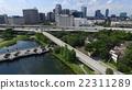 Aerial of downtown Orlando, Florida 22311289