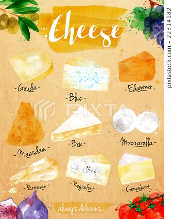 Poster cheese kraft 22314182