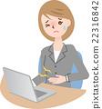 ผู้หญิงที่มีอาการปวดท้อง 22316842