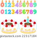 生日 一套 蜡烛 22317184