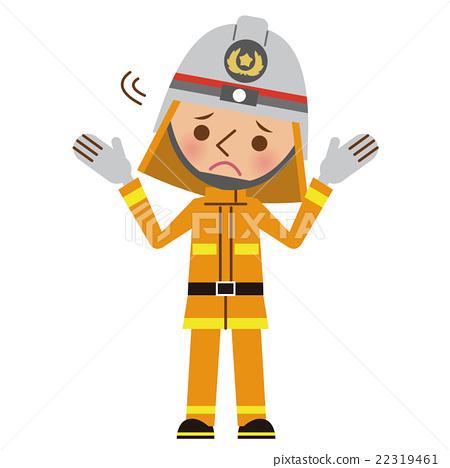 消防員 男人 男 22319461
