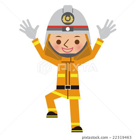 消防員 男人 男 22319463