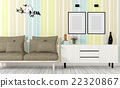 Colorful and modern style interior  22320867