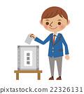 高中生 选举 投票 22326131