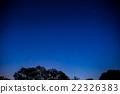밤하늘과 나무의 실루엣 2016 년 5 월 촬영 22326383