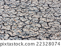 Cracked dry land without water. 22328074