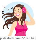 Woman Listening Music 22328343