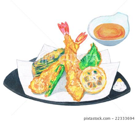 Assorted tempura 22333694