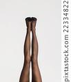 Beautiful legs in nice pantyhose 22334822
