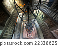 Industrial staircase going up 22338625
