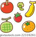 과일 일러스트 소재 세트 1 22339261