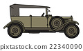Vintage military car 22340090