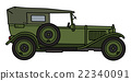 Vintage military car 22340091