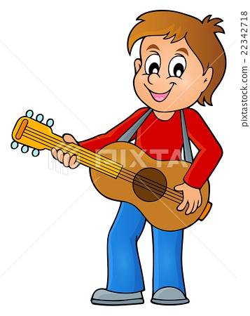 Boy guitar player theme image 1 22342718