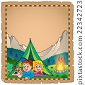 Camping theme parchment 2 22342723